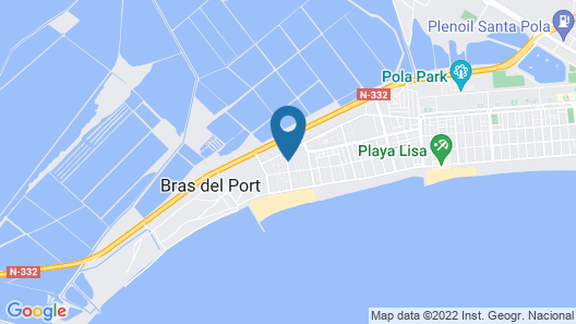 Vacation Home Misteri D'elx II in Santa Pola - 2 Persons, 1 Bedrooms Map