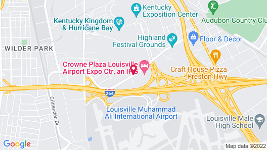 Courtyard by Marriott Louisville Airport Map