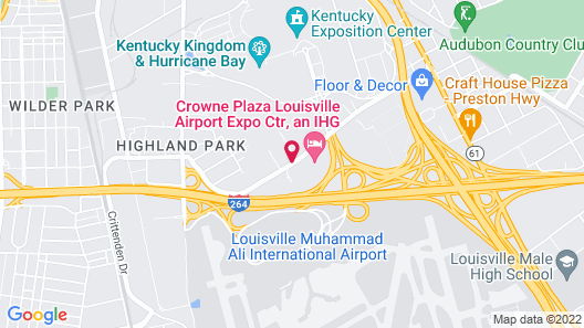 Springhill Suites by Marriott Louisville Airport Map