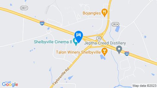 Ramada by Wyndham Shelbyville/Louisville East Map