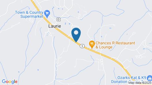The Lake House Inn Map