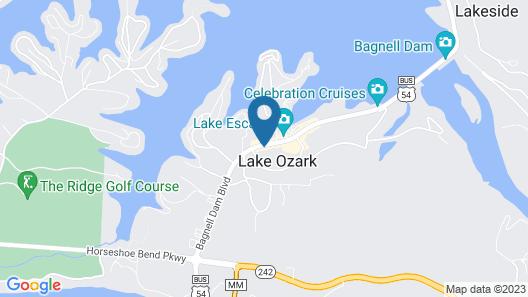 Newport 107 in Lake Ozark Map