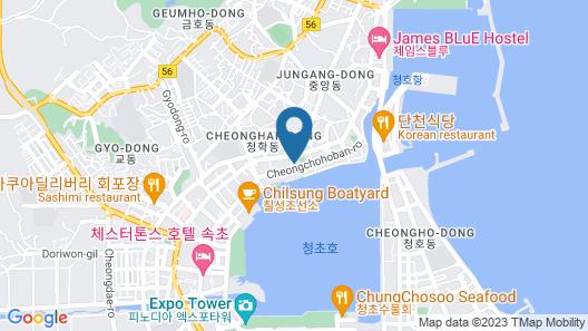 Sea Cruise Hotel Map
