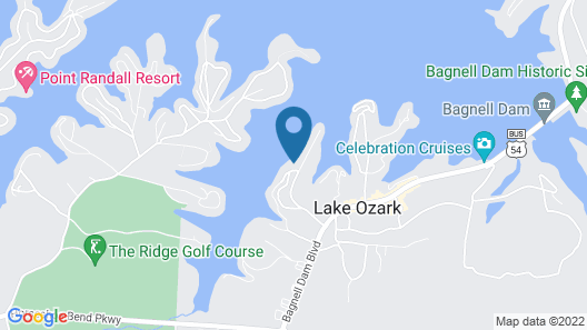 Newport 109 in Lake Ozark Map