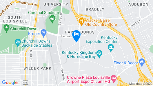 Holiday Inn Louisville Airport - Fair/Expo, an IHG Hotel Map