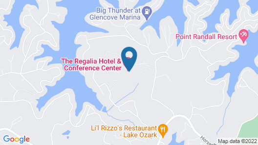 Regalia Hotel & Conference Center Map