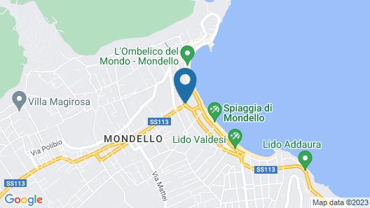 Mondello Palace Hotel Map