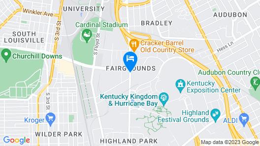 Hilton Garden Inn Louisville Airport Map
