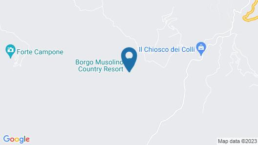 Villa Musolino Country Resort Map