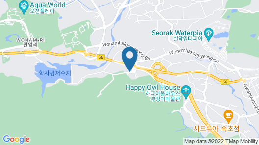 Sokcho Daemyung Heidi Pension Map