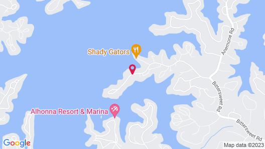 Camden on the Lake Resort & Spa Map