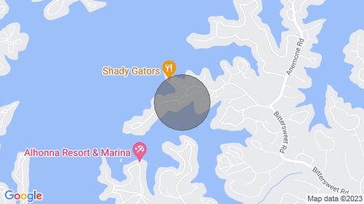 Close to Shady Gators & Camden on the Lake Map