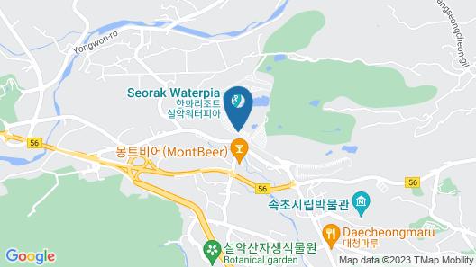 Hanwha Resort Seorak Sorano Map