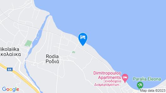 Seaside Villa in Map