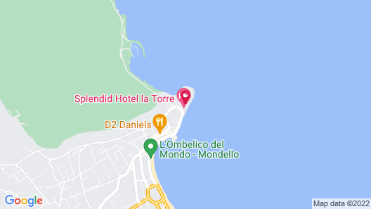 Splendid Hotel La Torre Map
