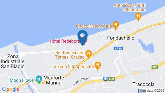 Hotel Redebora Map