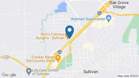 Motel 6 Sullivan, MO Map