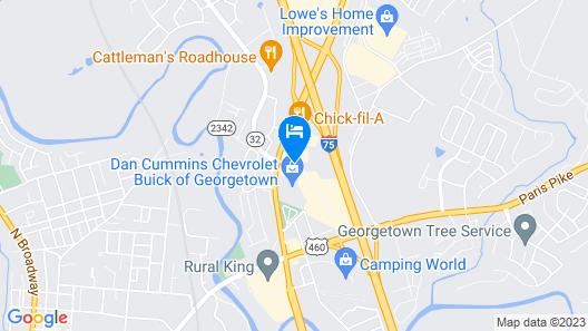 Baymont by Wyndham Georgetown Map
