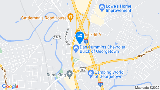 Home2 Suites by Hilton Georgetown Map