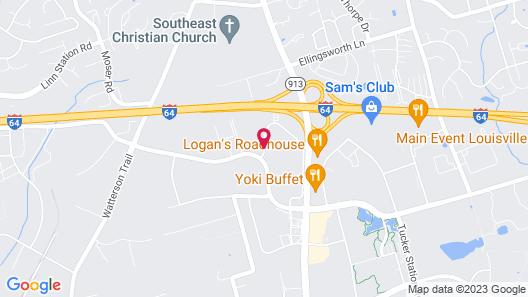 Fairfield Inn & Suites by Marriott Louisville East Map