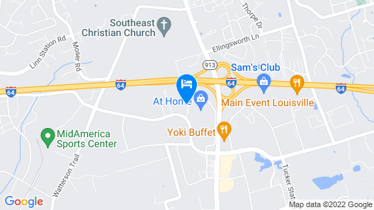 Microtel Inn by Wyndham Louisville East Map