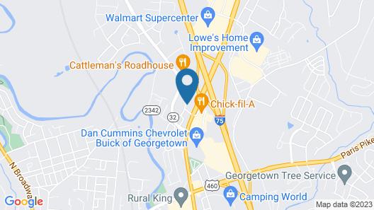 Hampton Inn Lexington / Georgetown I-75 Map