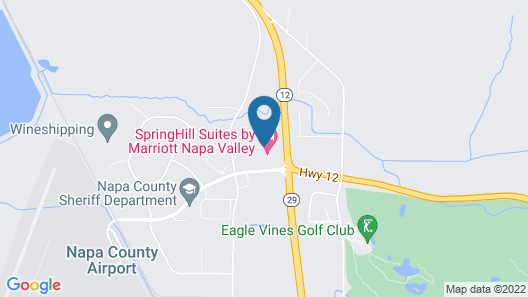SpringHill Suites Napa Valley Map