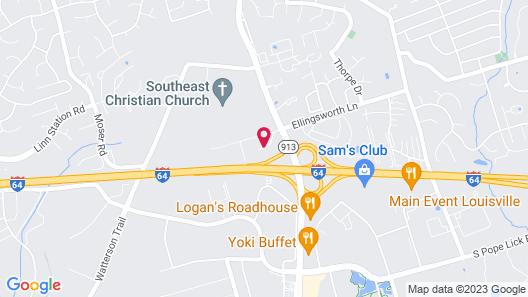 Staybridge Suites - Louisville - East, an IHG Hotel Map