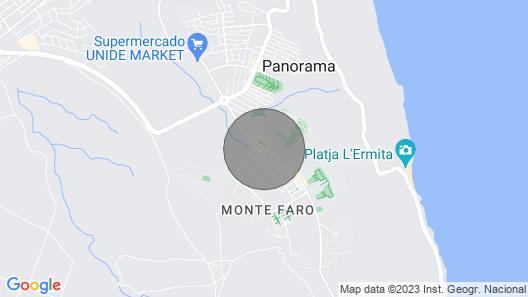 Holiday Park Gran Vista, Santa Pola Map
