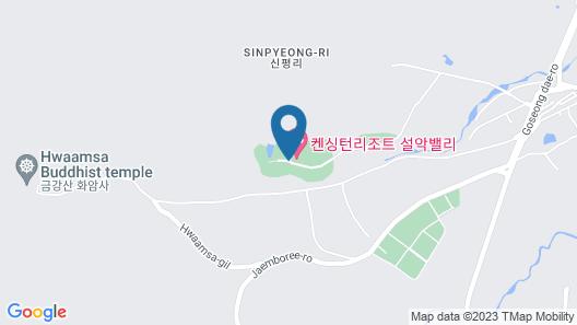 Kensington Resort Seorak Valley Map