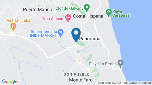 Nova Beach Apartment Map