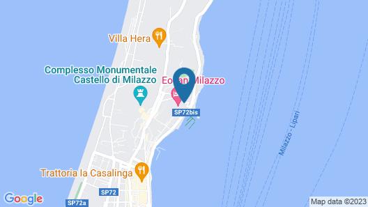 Eolian Milazzo Hotel Map