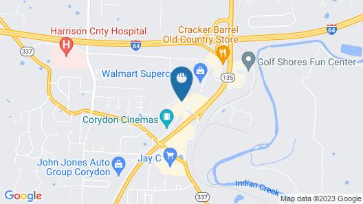 Holiday Inn Express Corydon, an IHG Hotel Map