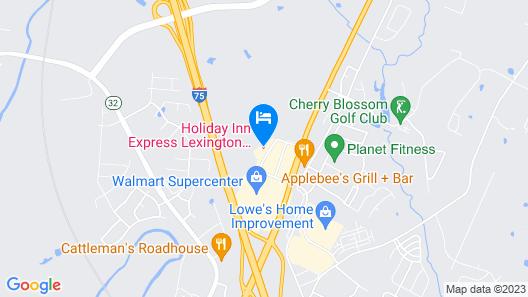 Holiday Inn Express Lexington North-Georgetown, an IHG Hotel Map