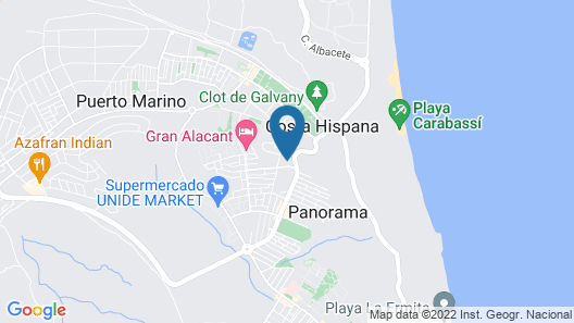 Margo Apartments Map