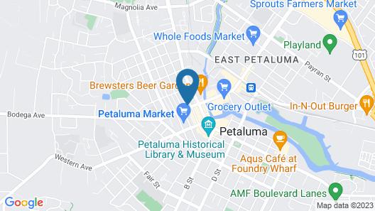 Hotel Petaluma, Ascend Hotel Collection Map