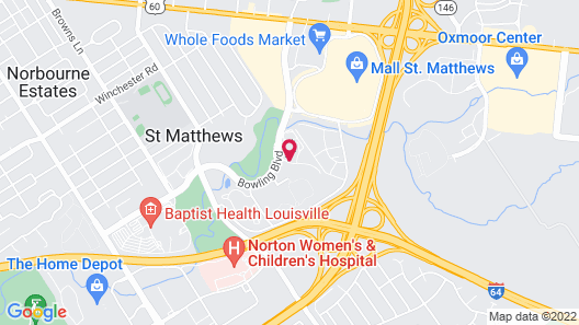 Hawthorn Suites by Wyndham Louisville East Map