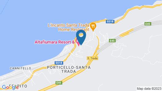 Altafiumara Resort & Spa Map