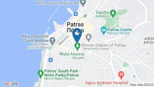 Maison Grecque Map