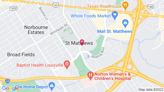 Inn at Woodhaven Map
