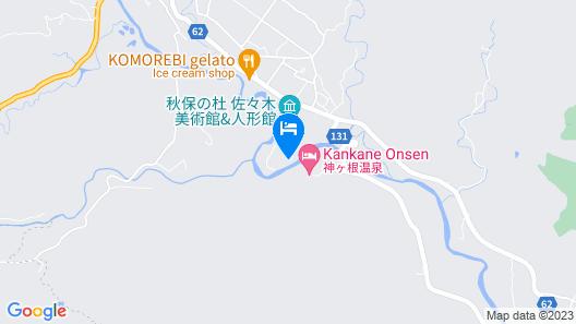 Akiu Canada Map