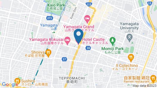 Hotel Castle Yamagata Map
