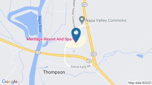 The Meritage Resort and Spa Map