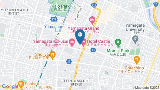 APA Hotel Yamagata-Ekimaeodori Map