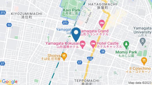 Daiwa Roynet Hotel Yamagata-ekimae Map