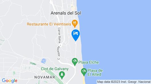 Myflats Luxury Sea Coast Map