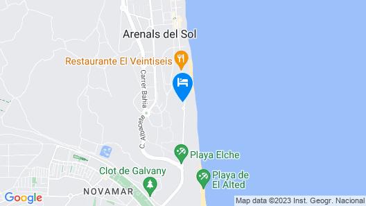 Sea Coast Apartment Map