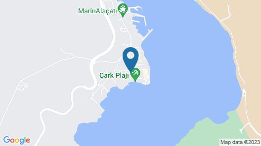 Seya Beach Hotel - Alacati Map