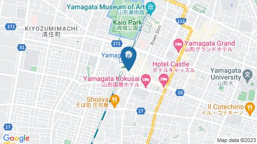 Hotel Metropolitan Yamagata Map