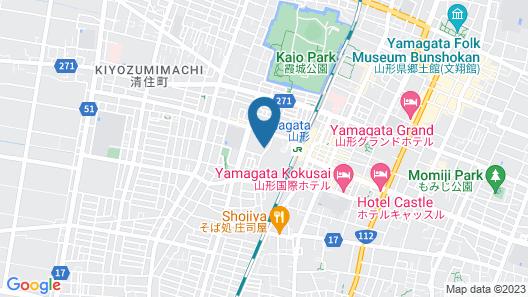Richmond Hotel Yamagata Ekimae Map